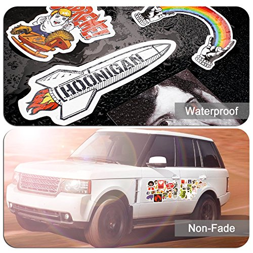 Laptop Stickers [200 pcs], Breezypals Car Stickers Motorcycle Bicycle Luggage Decal Graffiti Patches Skateboard Stickers for Laptop [No-Duplicate Sticker Pack] by BREEZYPALS (Image #2)