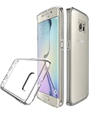 Galaxy S7 Edge Case Crystal Clear Shockproof Bumper Protective Cell Phone Case for Galaxy S7 Edge Covers for Men Women Boys Girls