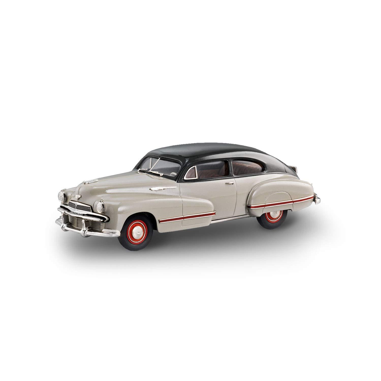 Brooklin Models - 1942 Oldsmobile 98 B-44 Sedanette BicolGoldt - BML01 - Flussnebel grau Staubgrau