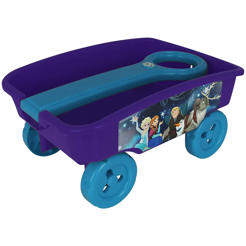 TW24 Handwagen f/ür Kinder mit Motivwahl Bollerwagen Strandwagen Spielzeug Ziehwagen Frozen