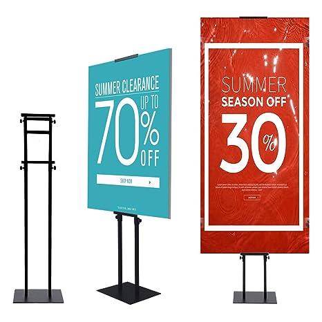 Amazon.com: YDisplay - Soporte para carteles de suelo ...