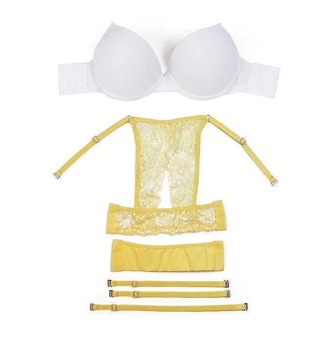 Unify Underwear - Sujetador básico - para Mujer Amarillo Dainty Yellow 60: Amazon.es: Ropa y accesorios
