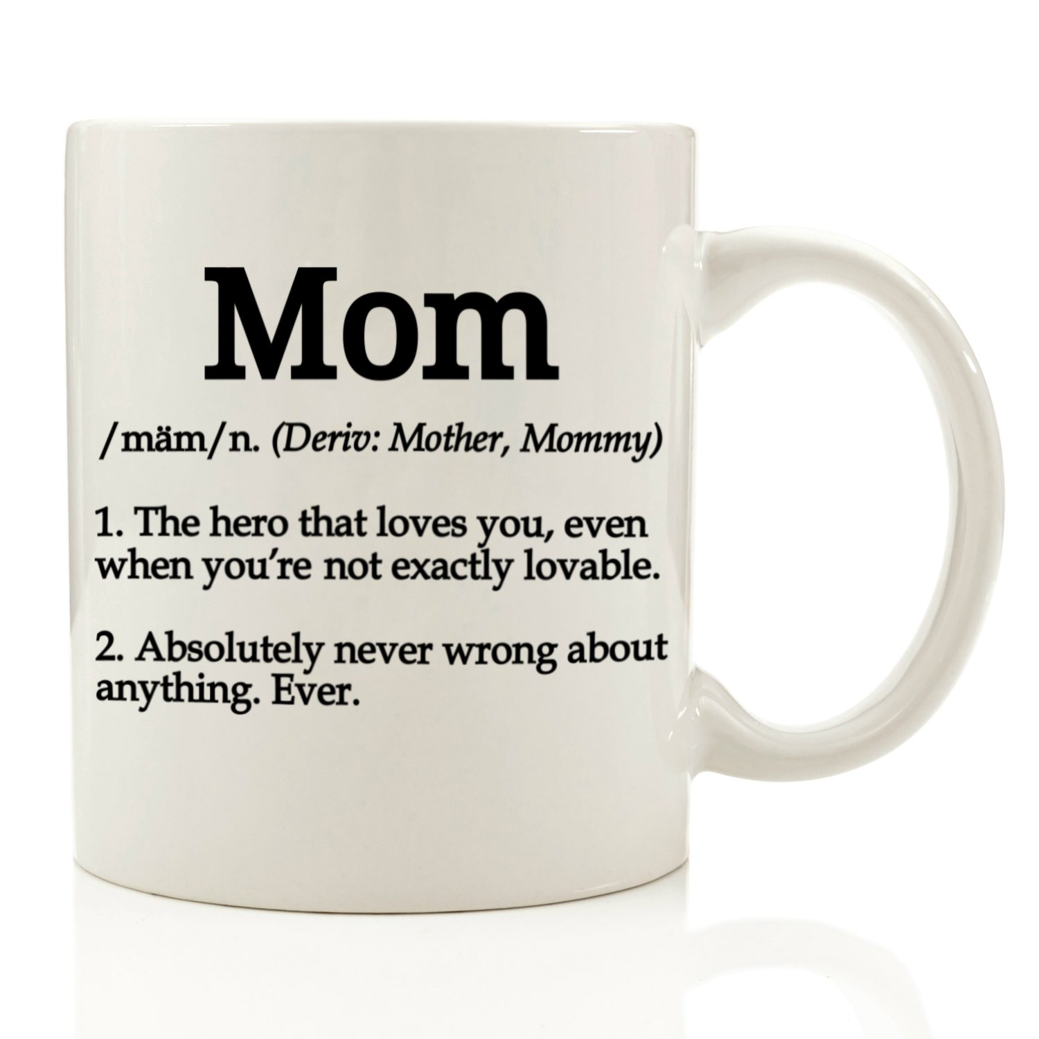 Amazon.com: Mom Definition Funny Coffee Mug 11 oz - Top Christmas ...