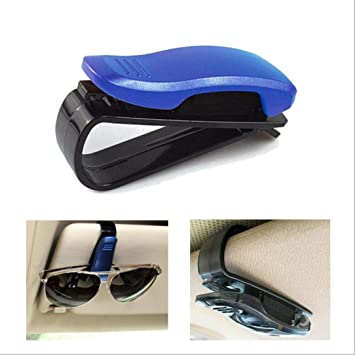 Glasses Holders for Car Sun Visor Black Transer Sunglasses Eyeglasses Mount with Ticket Receipt Card Clip