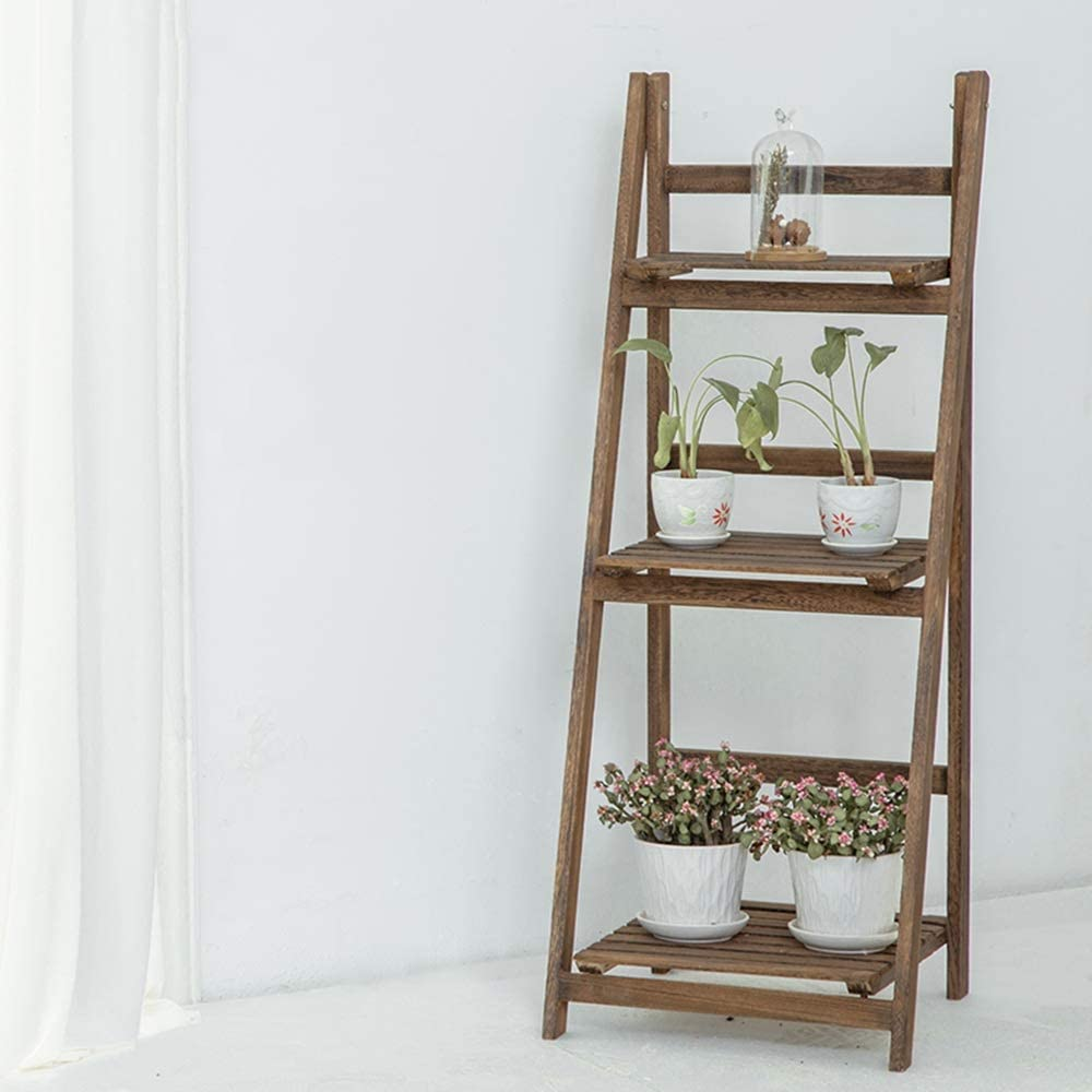 Estantes de pared MEIDUO Escalera Multifuncional en Forma de Escalera Soporte de Flores Estante Estanterías de Almacenamiento de estanterías Muy Durable: Amazon.es: Hogar
