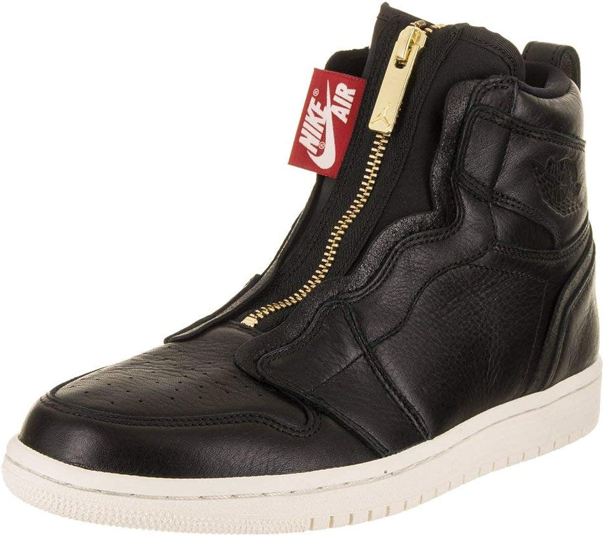 Wmns Air Jordan 1 Retro High Zip 'Black'