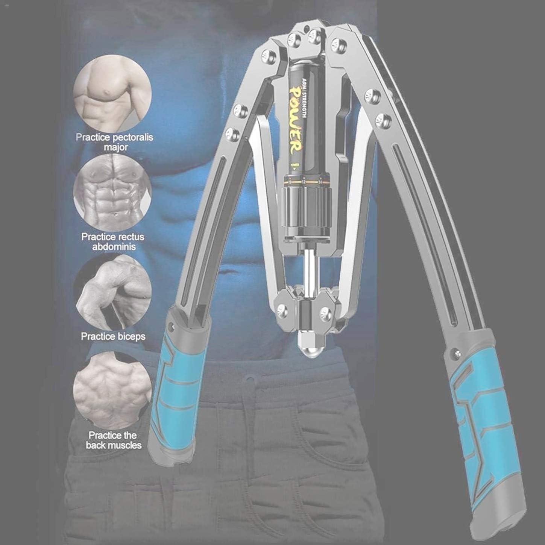 Forza Regolabile TrainerTension Trainer 10Kgs a 200KgsBuild Braccio StrengthHydraulic Trainer Colore : Blue