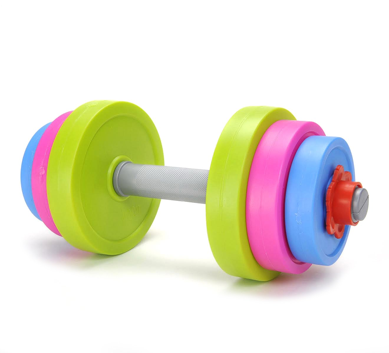 PowerTRC Fun and Colorful Dumbbell for Kids - Adjustable Weights - Fill Weights with Water or Sand - Beach Toys
