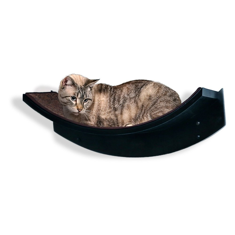 The Refined Feline Lotus Leaf Cat Shelf