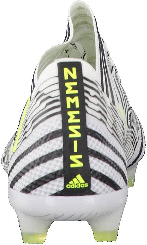 adidas Nemeziz 17.1 FG, Chaussures de Football Homme Multicolore Blanc Noir Ftwbla Amasol Negbas