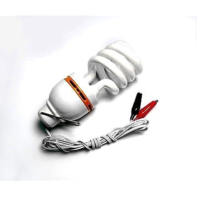 Fluorescente 12v Compacte Volts Dc 12 Câblage Ampoule Avec nO8N0vmw