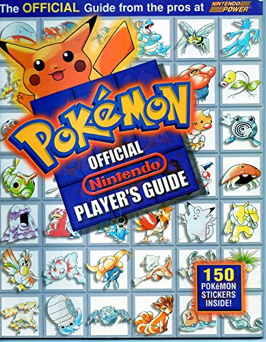 - Pokemon: Official Nintendo Players Guide