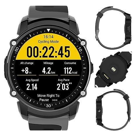 FS08 patrones de deportes reloj inteligente Android5.0 y ios9.0, IP68 impermeable