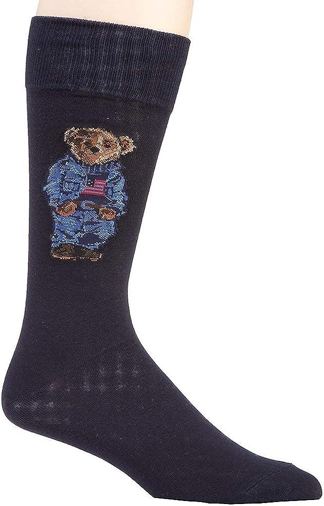 Polo Ralph Lauren 1-Pack Blazer Bear & Crest Socks