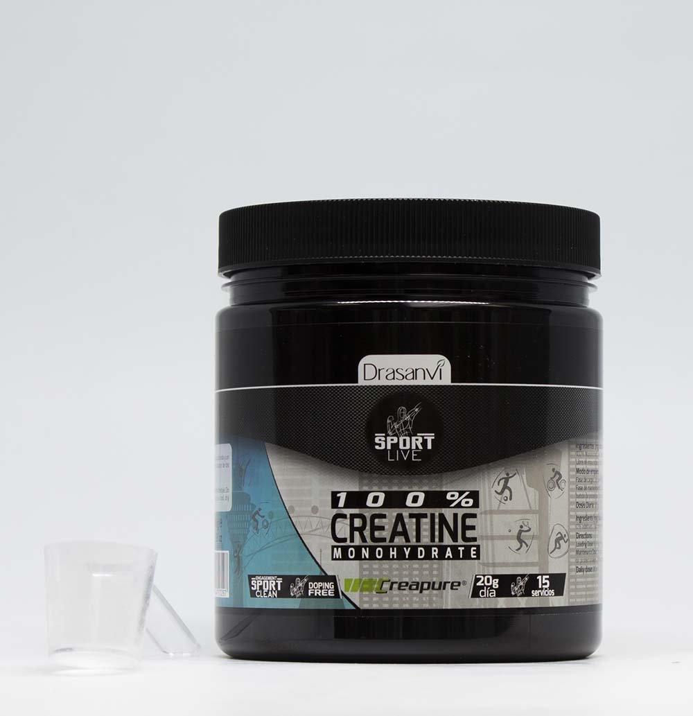 Drasanvi 100% Creatine Monohydrate Creapure - 300 gr.: Amazon.es: Salud y cuidado personal