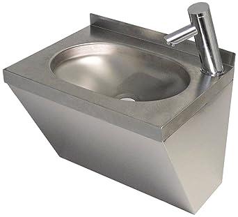 Mano lavabo Acero Inoxidable Ancho 500 mm Altura 390 mm ...
