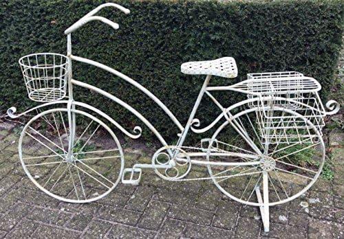 Moritz® XXL Macetero bicicleta soporte de macetas cesta 140 x 90 ...