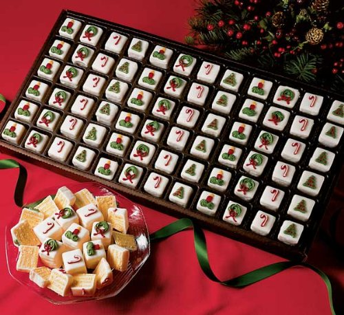 Best Holiday White Petit Fours for Halloween (60 Piece Tray)