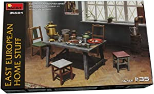 MiniArt 35584 East European Home Stuff, Buildings and Accessories Collection 1/35 Scale Model Kit