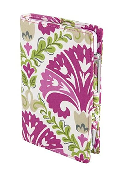 d0e5945e3e Amazon.com  Vera Bradley Fabric Journal in Julep Tulip