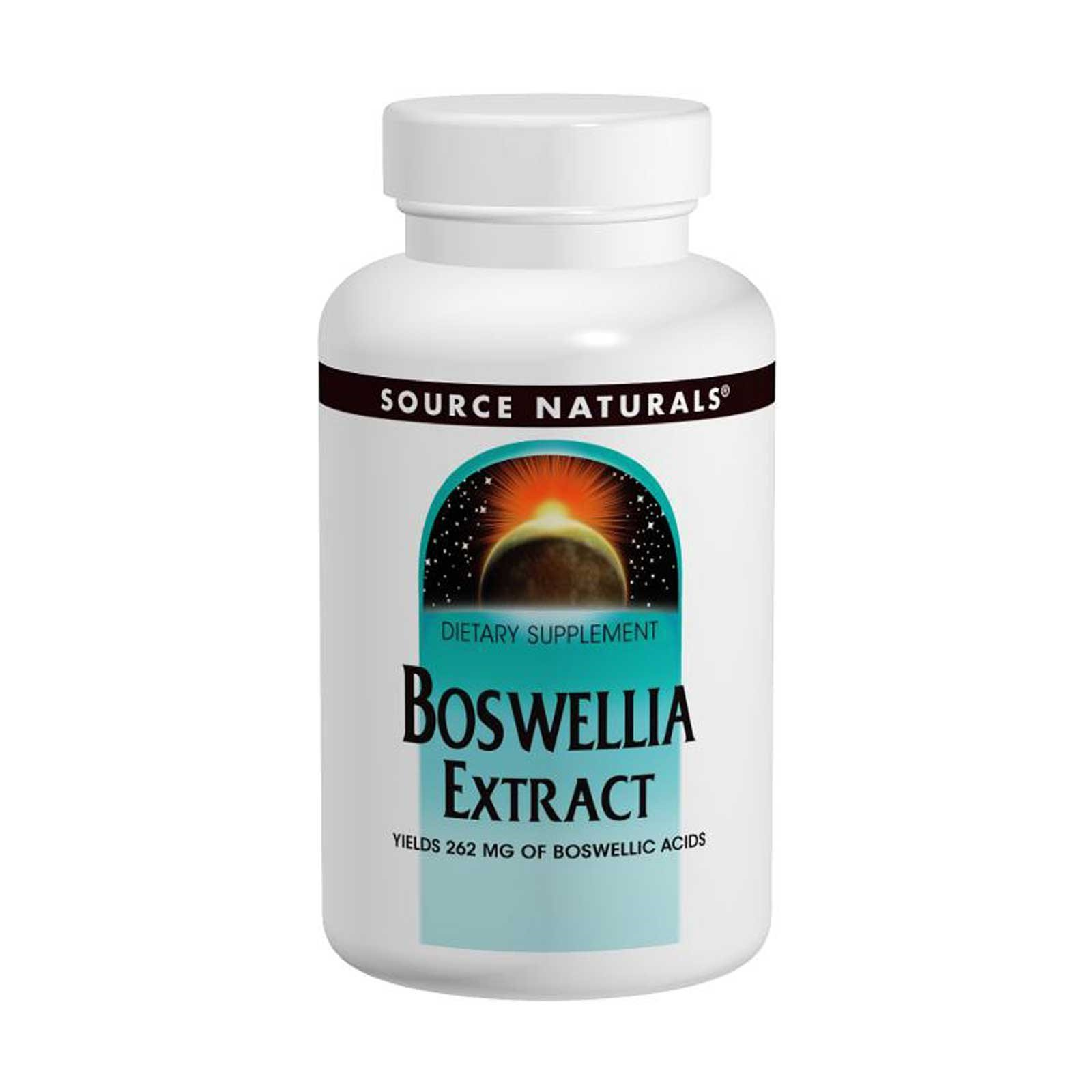 Source Naturals, Boswellia Extract, 100 Tablets - 3PC