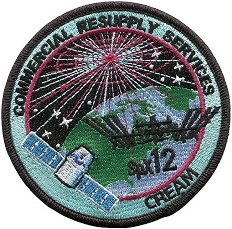 AUTHENTIC SPACEX DM-2 FIRST CREWED FLIGHT F9 ISS NASA SPACE Mission PATCH