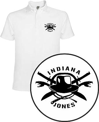 The Fan Tee Polo de NIÑOS Indiana Jones Payaso Terror Peliculas: Amazon.es: Ropa y accesorios