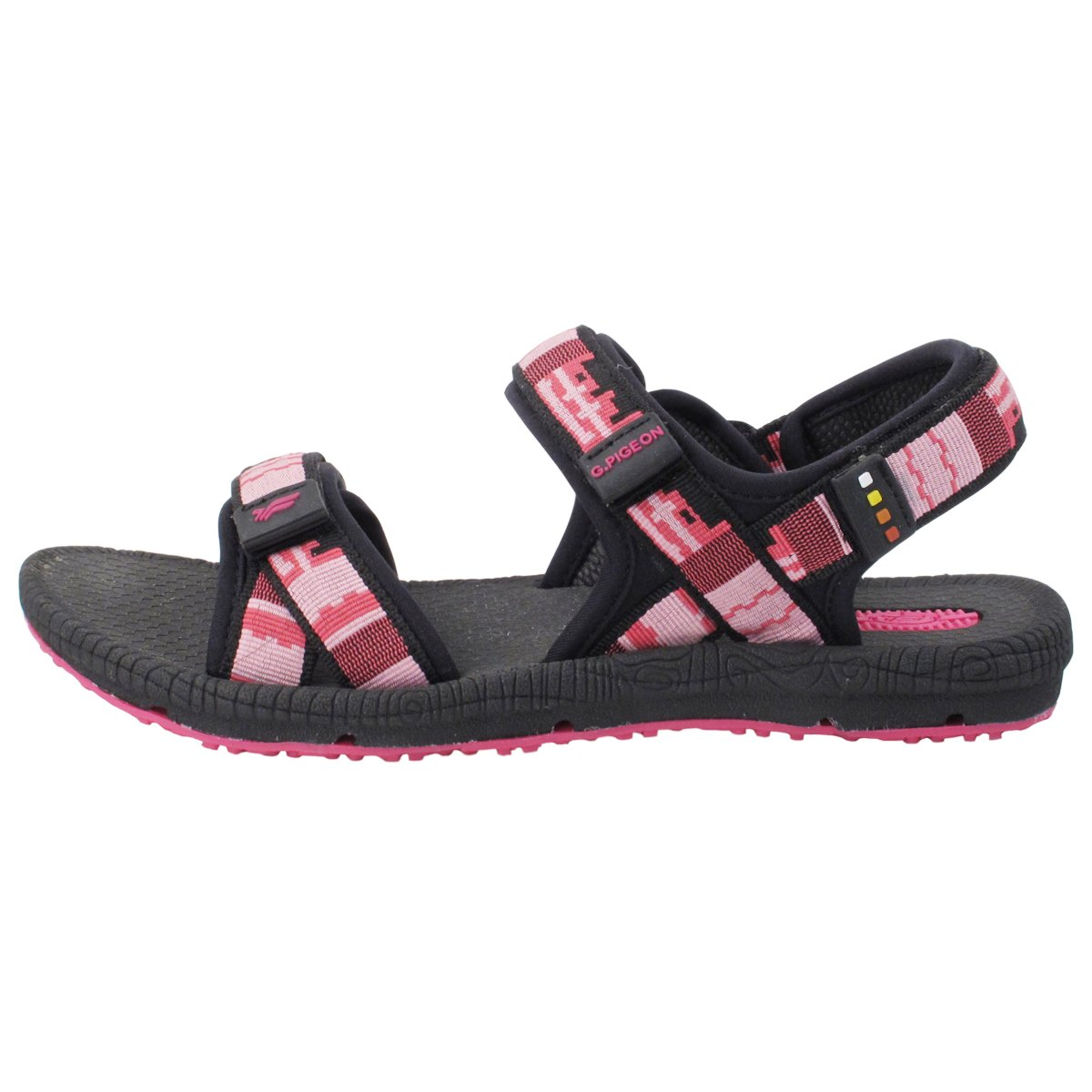 Gold Pigeon Shoes GP5931 Light Weight Adjustable Outdoor Water Sling Back Sandals for Men & Women B0796M5VR7 EU38: Women 7.5/8 & Men 6.5/7 (252.6mm)|8658 Fuchsia