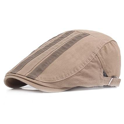 Gespout Sombreros Gorras Boinas Hombres Mujer Hat Flat Cap Invierno Otoño  Lienzo Béisbol Gorros Deportes Viaje 9d3f29f0cac
