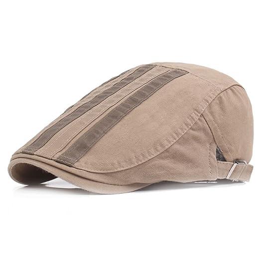 Scrox 1x Hombre Mujer Sombreros Gorras Boinas Moda Simple Vintage ...