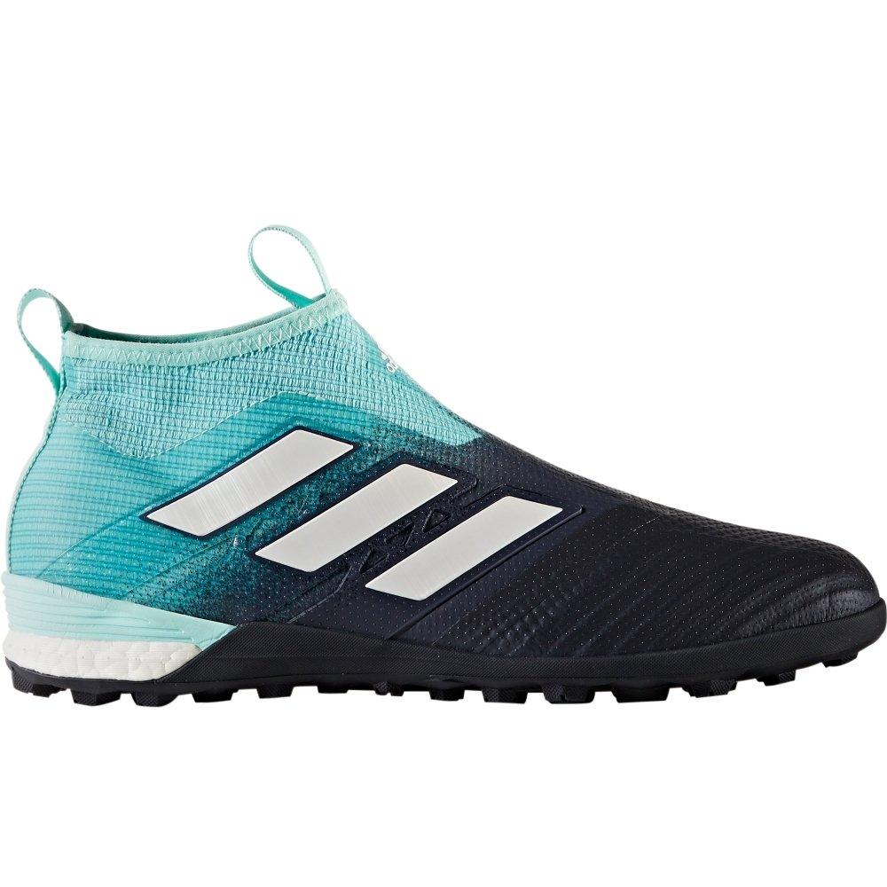adidas Mens Ace Tango 17+ Purecontrol Turf Shoes - (Energy Aqua/White/Black) B0741FCXHB 10.5 D(M) US