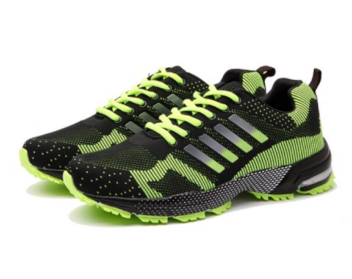 Fashion Running Shoes for Cross-Country Skiing. More Colors and Sizes. B07BP6W64T 7.5 B(M) US|Black Green M