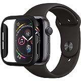 【Spigen】 Apple Watch Series 4 44mm 対応 ケース 落下 衝撃 吸収 簡易着脱 超薄型 シン・フィット 062CS24474 (ブラック)