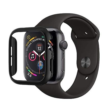 Spigen Thin Fit Designed for Apple Watch Case for 44mm Series 5 / Series 4 - Black