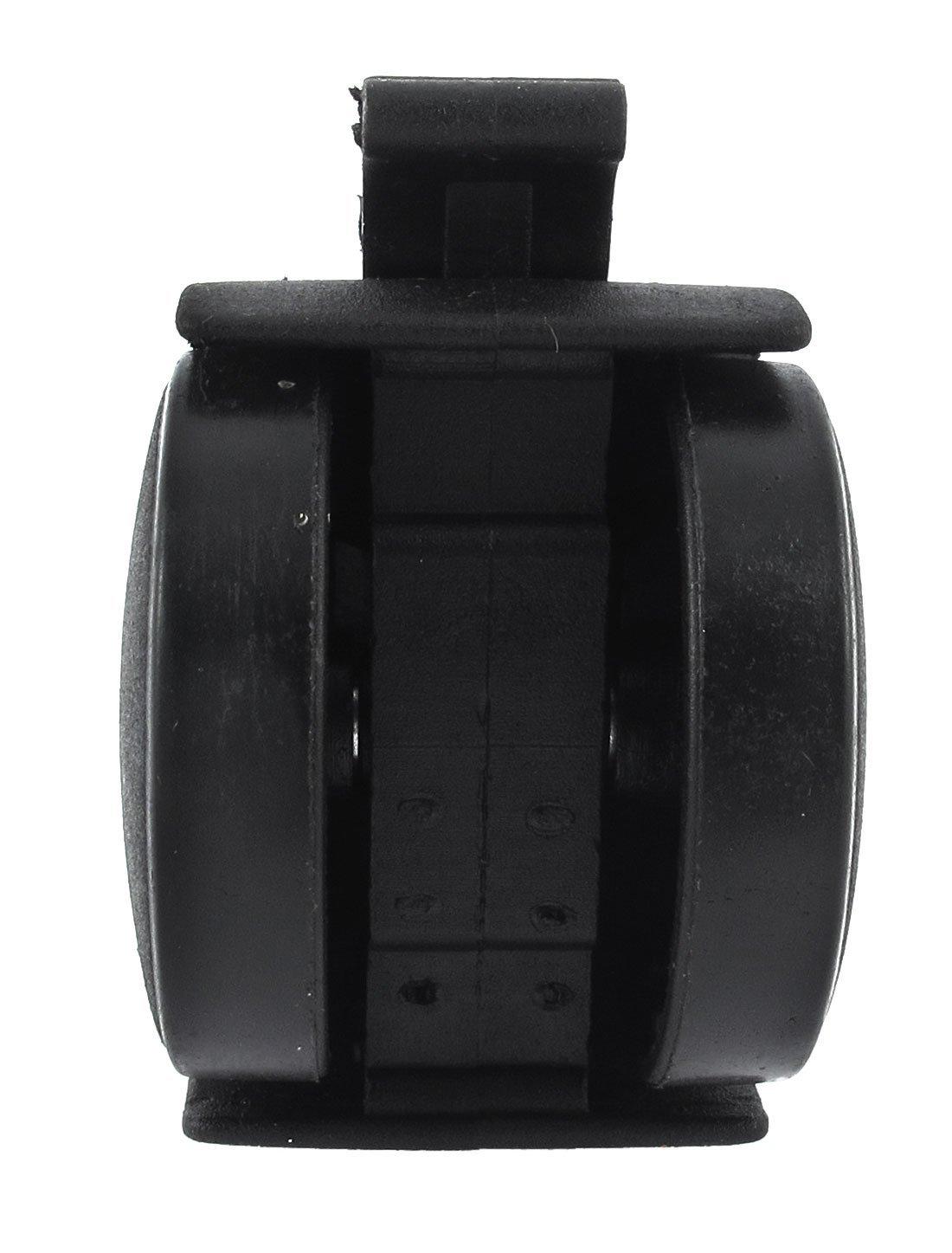 eDealMax 1.5 Doble rueda de M8x15mm roscada del vástago de Freno ruedas giratorias de Nylon 8pcs: Amazon.com: Industrial & Scientific