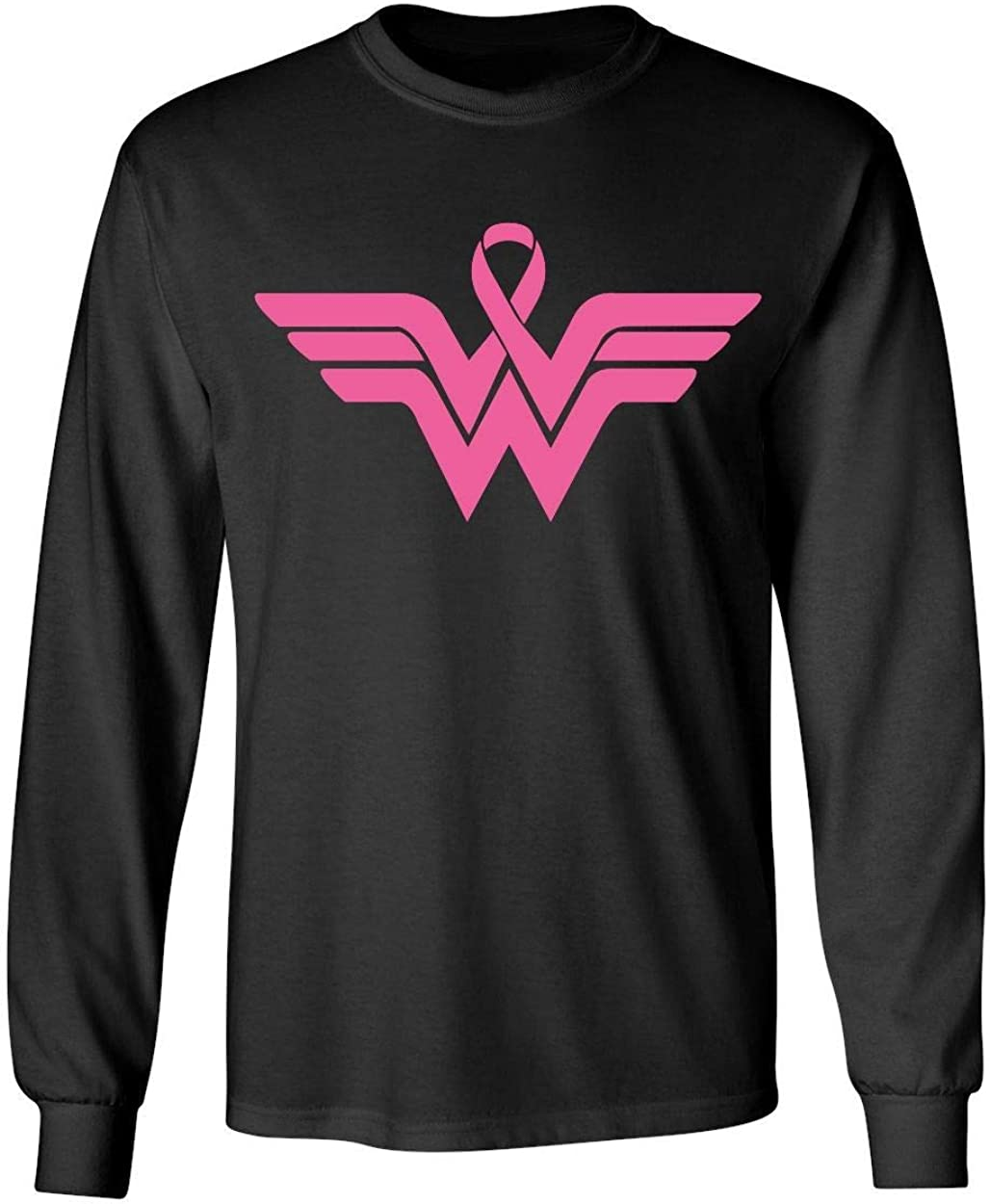 Kropsis White Heart Breast Cancer Awareness Womens T-Shirt
