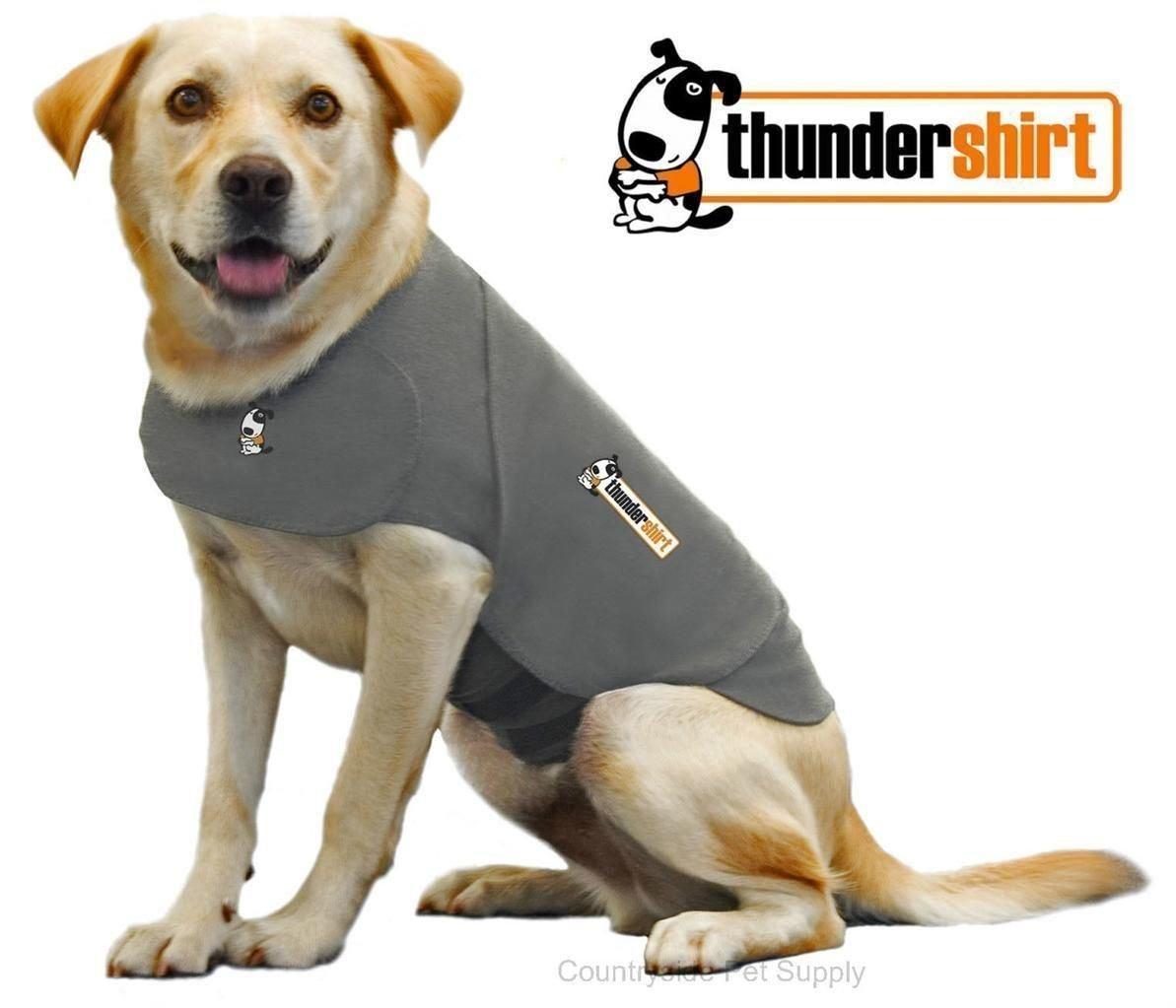 Thundershirt Dog Anxiety Treatment Heather Grey Size Large by Destinie