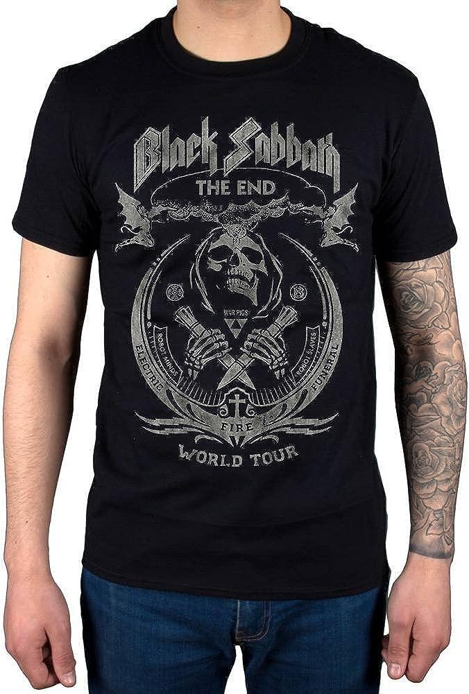"BLACK Sabbath /""Sabbath Bloody Sabbath/"" WORK Shirt-Nuovo e Ufficiale!"