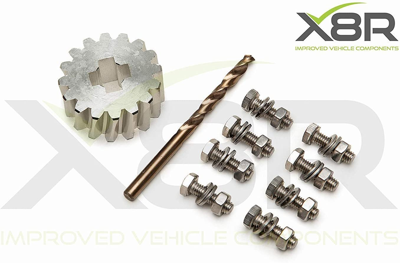 X Ford Galaxy Seat Alhambra VW Sharan Rueda de Repuesto Soporte Mecanismo Elevador Kit de Reparación