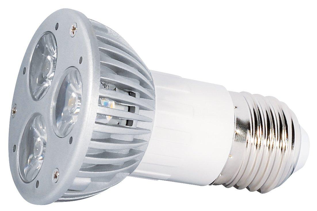 luce Bianca Calda Faretto Power Spot a LED 230 V 3 W E27 Transmedia LPD3-33SL