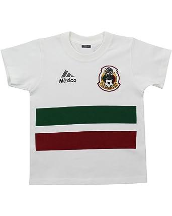 Mexico Soccer Jersey Kids Shirt Futbol Mexicano Camisa de Seleccion Mexicana (XS)