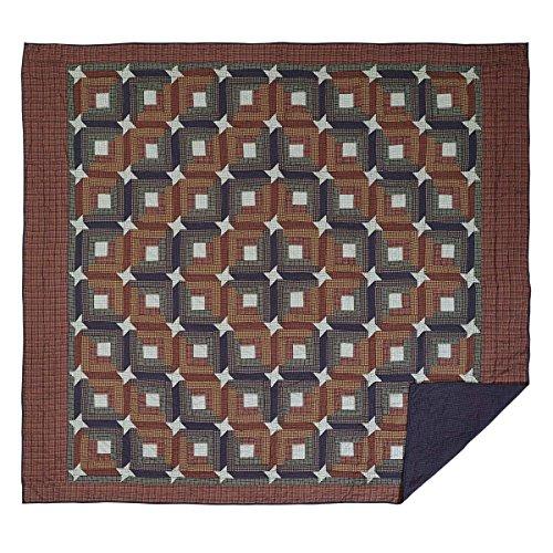 VHC Brands Parker King Quilt, 97x110