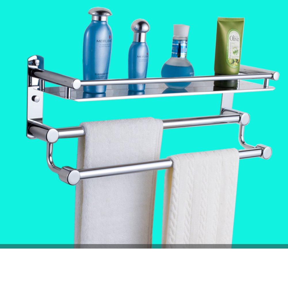 85 off stainless steel bathroom shelf toilet wall mounted racks bathroom accessories towel for Stainless steel bathroom accessories