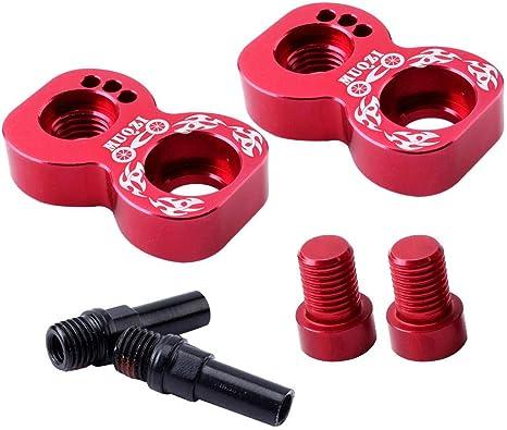 406 To 451 Bike V Brake Converter Rack Extension Frame Holder Adapter Black Red Amazon Co Uk Sports Outdoors