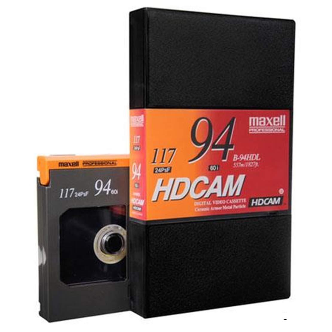 マクセル ビデオカセット B~94HDL HDCAM 94分録画時間 L   B07NW2M66Z