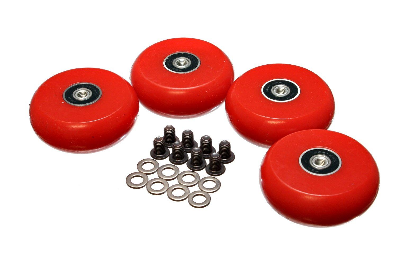 Energy Suspension 9.9171R 2-3/8'' /60mm Creeper Wheel - Set of 4