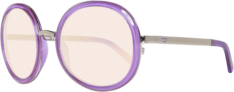 Diesel Sonnenbrille DL0069 5783Z Gafas de sol, Morado (Violett), 53 para Mujer