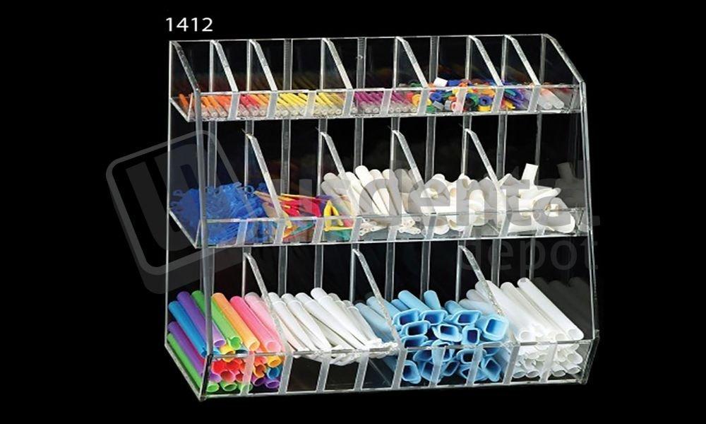 PLASDENT - Adjustable Compartment Organizer - # 1412 - Each 001-1412 DENMED Wholesale