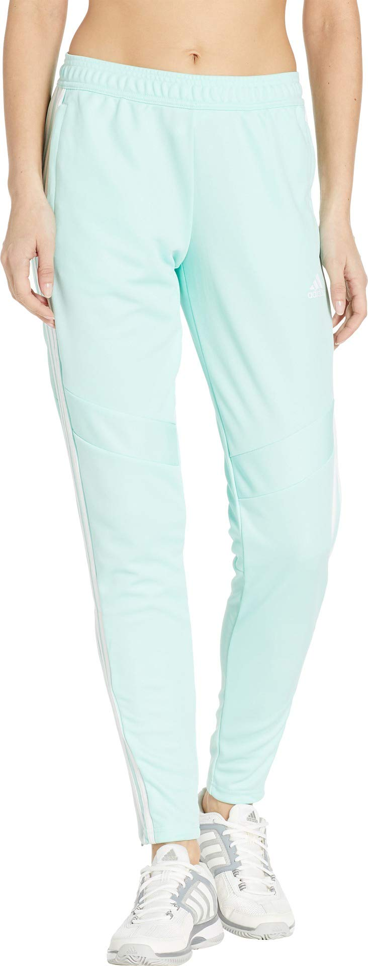 adidas Women's Tiro '19 Pants Clear Mint/White X-Large 30 by adidas (Image #1)