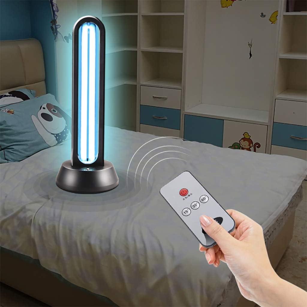 Lámpara de esterilización UV Lámpara germicida ultravioleta integrada con ozono desinfección del tubo de cuarzo Desinfectante LED UV-C portátil para el área de mascotas del inodoro del refrigerador38W